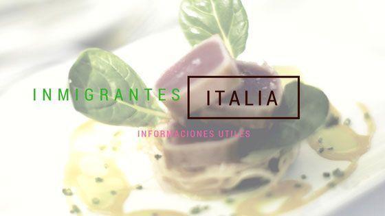 Inmigrantes en Italia Informaciones útiles