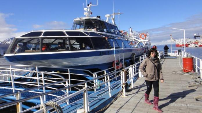 Paseo en catamarán por el canal Beagle