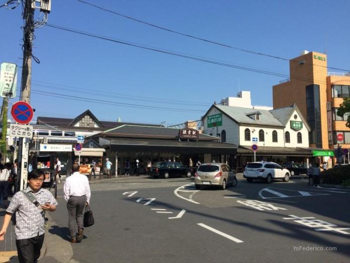 Estación de tren de Kamakura, Japón