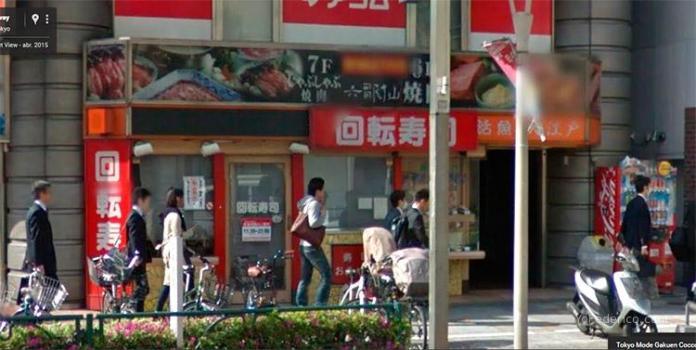 Restaurante-de-Kaiten-Sushi-en-Tokyo