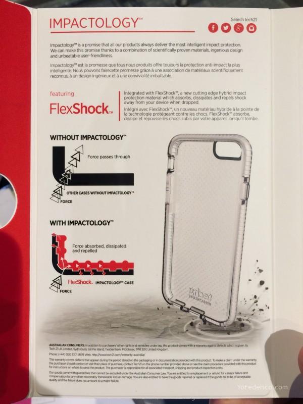 Tech21 Impactology, fundas iPhone