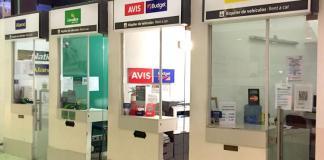 Agencias de alquiler de autos Rentacar en Aeropuerto de Ezeiza Ministro Pistarini - Aeropuertos Argentina 2000