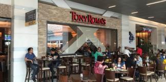 Tony Roma´s en el Costanera Center de Santiago
