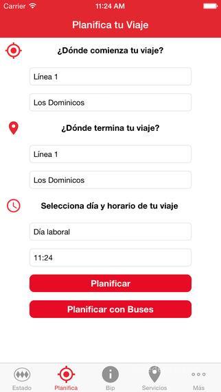 Apps Metro de Santiago Chile