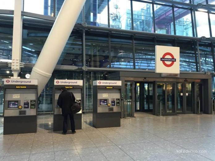 Metro de Londres desde el aeropuerto de Heathrow a Londres