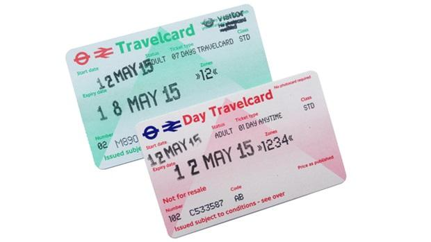TravelCard TVC Londres London