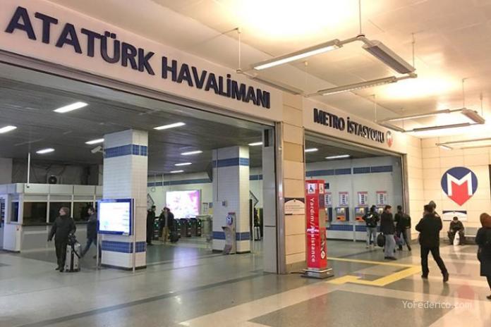 Cómo ir en Metro del aeropuerto de Estambul a la ciudad 5