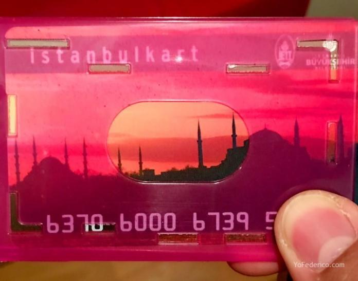 Istanbul Kart - Istanbul Card - Estambul