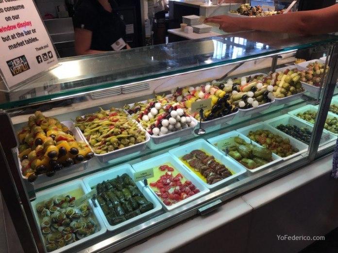 Almuerzo en el Mercado de San Miguel en Madrid 6