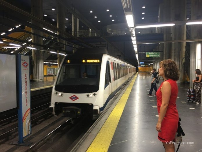 Cómo ir en Metro desde el Aeropuerto de Barajas a Madrid 5