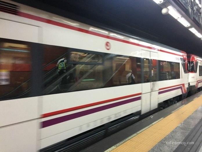 Cómo ir en Metro desde el Aeropuerto de Barajas a Madrid 7