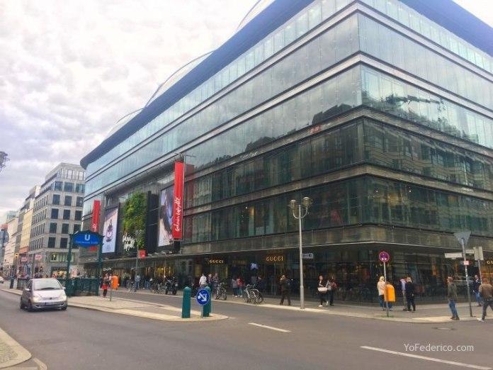Las Galerías Lafayette de Berlín 2