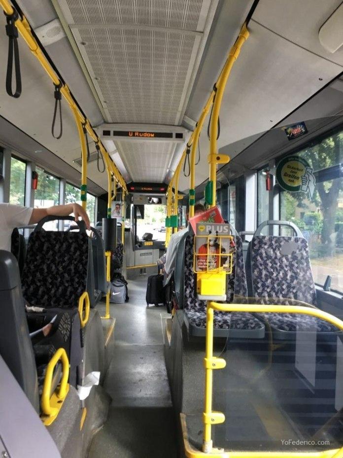 Transporte público desde el aeropuerto Schönefeld hasta la ciudad de Berlín 5