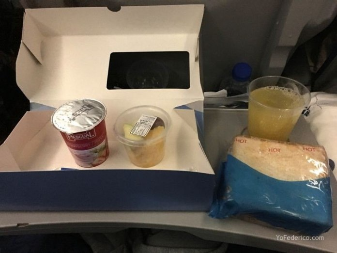 Vuelo de Madrid a Buenos Aires en AirEuropa 11