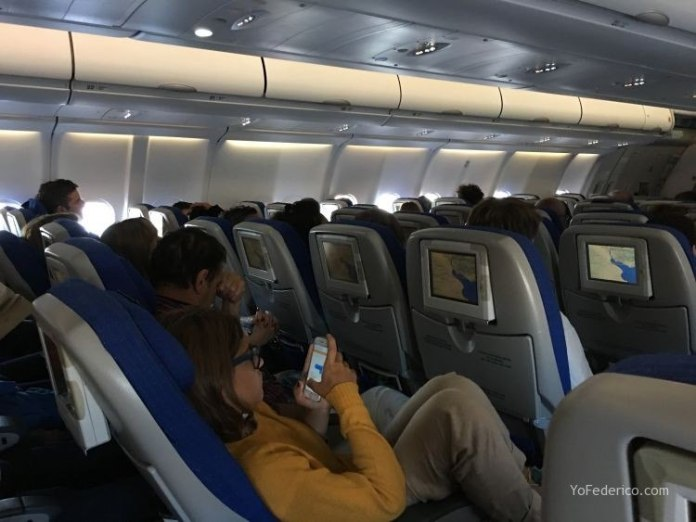 Vuelo de Madrid a Buenos Aires en AirEuropa 12