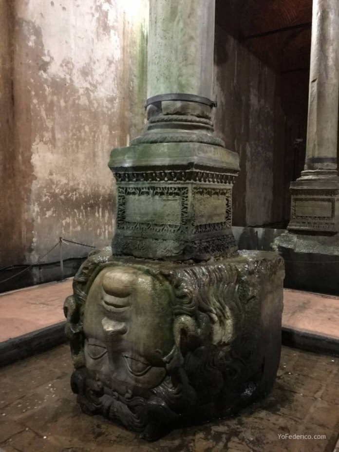 La Cisterna Basílica de Estambul 6