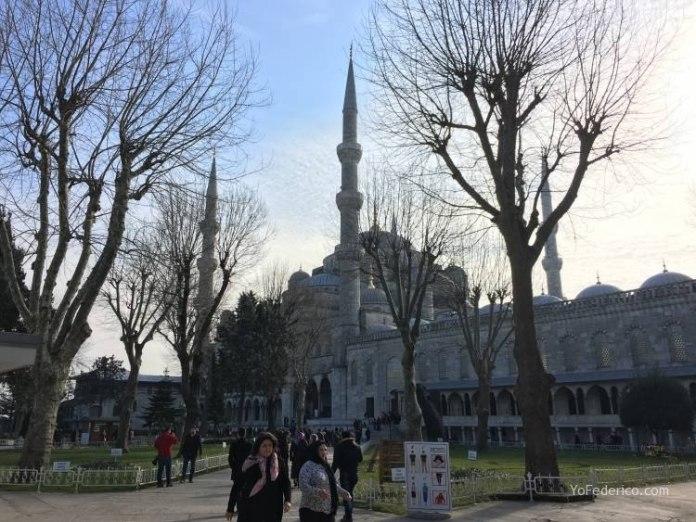 La Mezquita Azul de Estambul 15