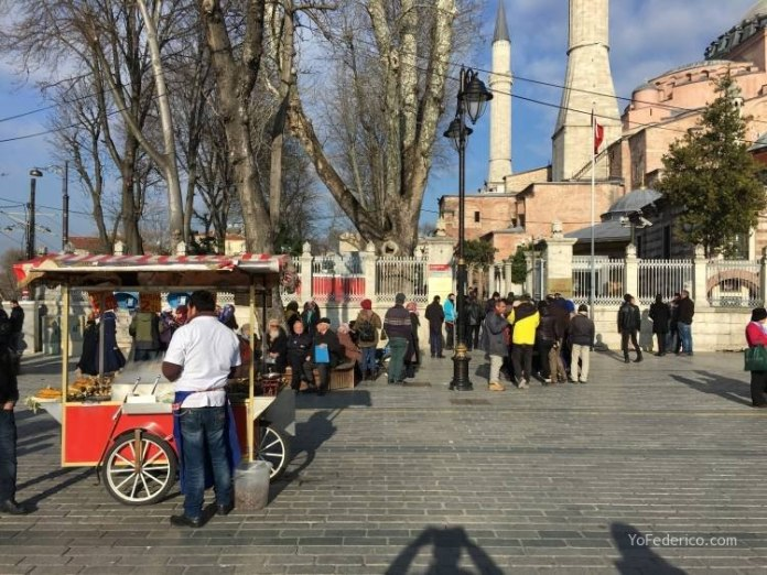 La mezquita Santa Sofía de Estambul 2