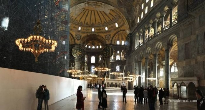 La mezquita Santa Sofía de Estambul 7
