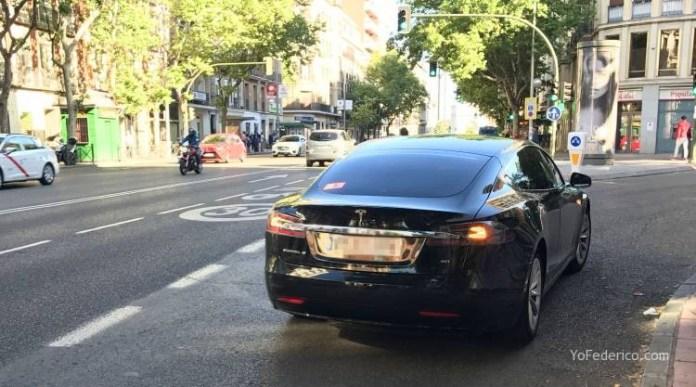 Pedí un UBER en Madrid y me vino un Tesla! 5
