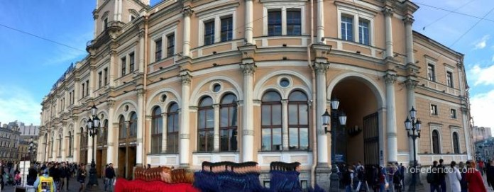Comprando pasajes de tren en San Petersburgo para ir a Moscú 9