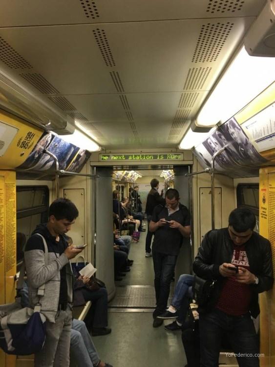 Metro desde la estación de Moscú al centro 14