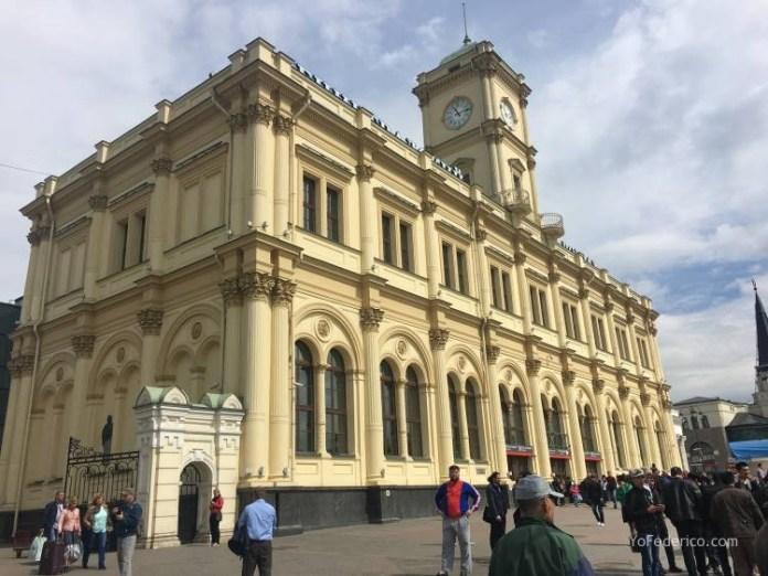 Viaje en tren bala desde San Petersburgo a Moscú 14