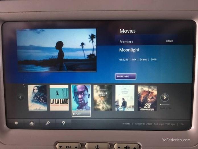 Vuelo Moscú - Londres en Aeroflot 7