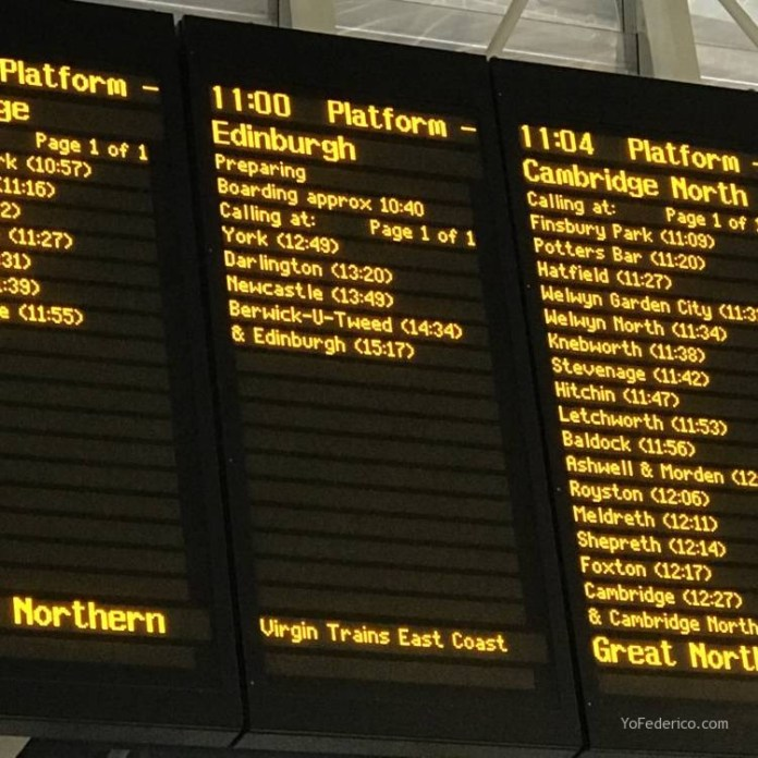 Cómo viajar en tren directo desde Londres a Edimburgo 12
