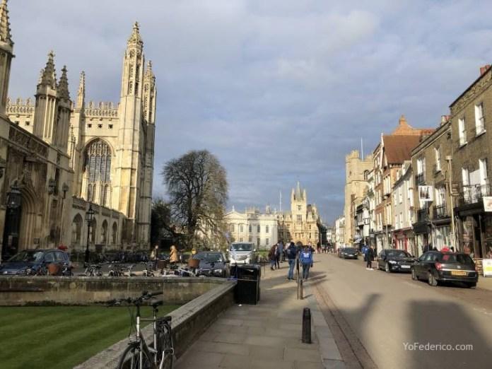 Conocimos la ciudad universitaria de Cambridge 10