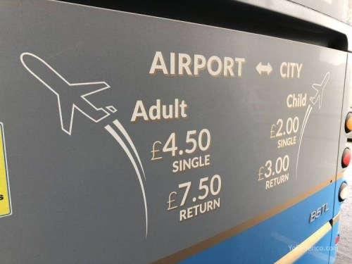 El Bus de Edimburgo que conecta la ciudad con el Aeropuerto 1