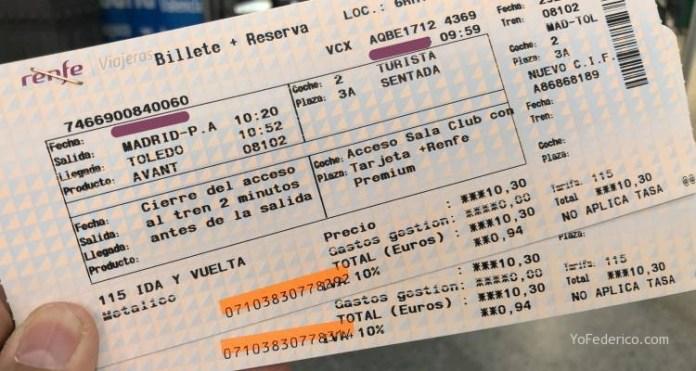 Viajamos en tren de Madrid a Toledo 5