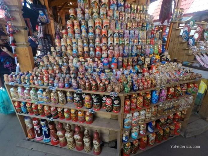 Todas las mamushkas del mercado Izmailovo de Moscú 11