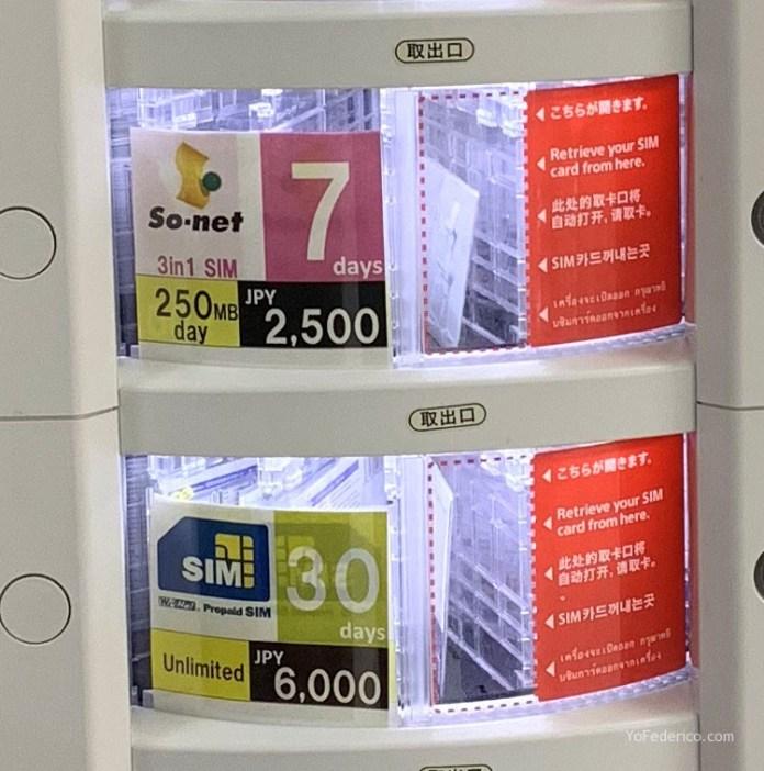 El mejor SIM de datos para comprar en Japón 8