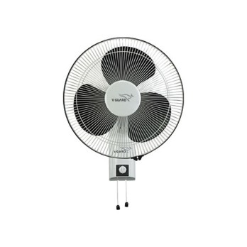 V-Guard Wall Fan 55 Watt- Wilma Std (White, Black/Yellow, Black)