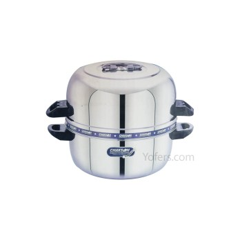 Chakson Stainless Steel Rice Cooker 6.5 Litre (Big)