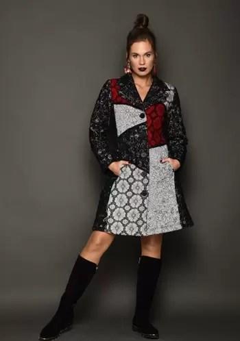 """2851 - קולקציית חורף 2019 של מעצבת האופנה """"רעומה"""", בהשראת פרחי הבר של ארץ ישראל."""