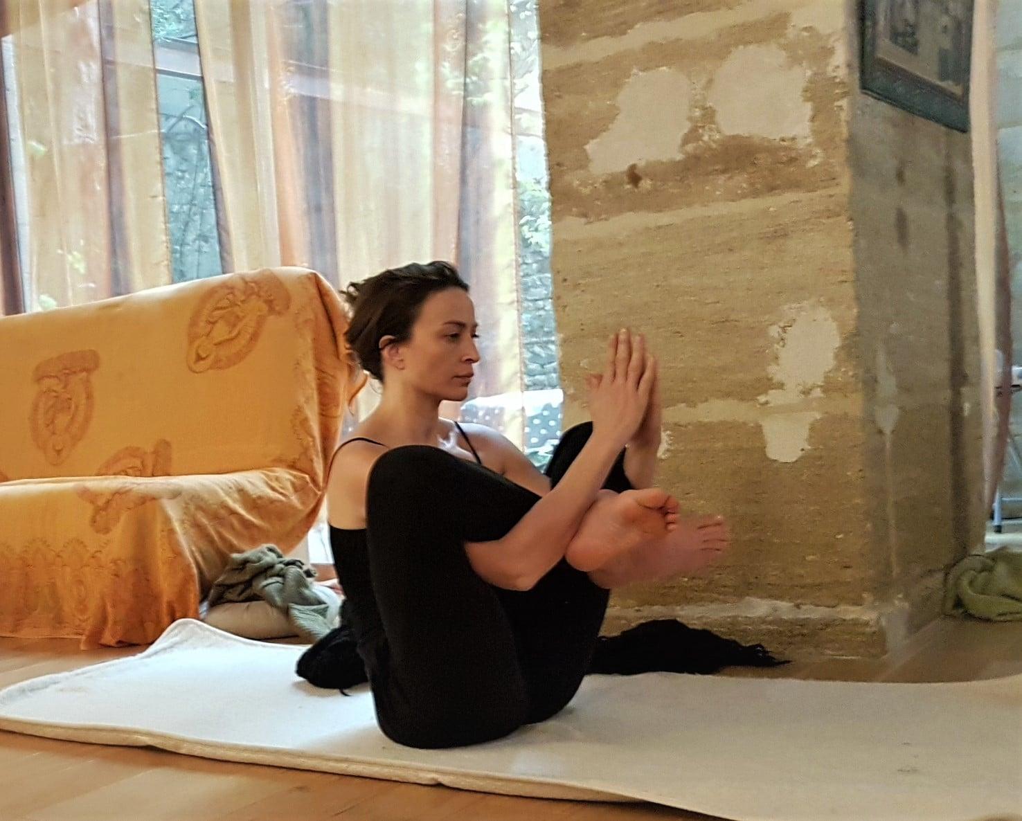 Camille Augier - professeur de yoga