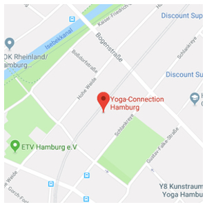 yoga connection hamburg map