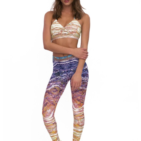 Niyamasol yogalegging - sportlegging - Amethyst Yogakleding