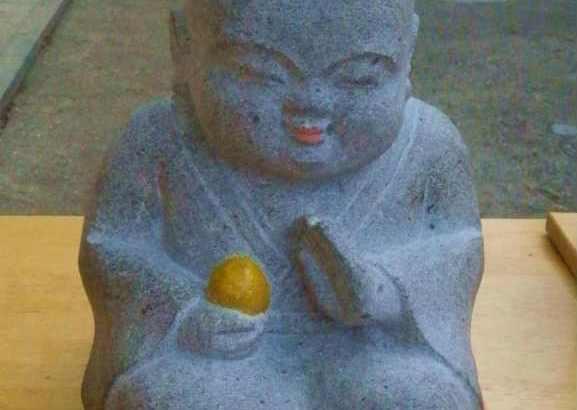 お地蔵さんを抱っこ出来る鷲尾愛宕神社へ参拝💖お願い地蔵さん・神馬像・神牛像篇💚