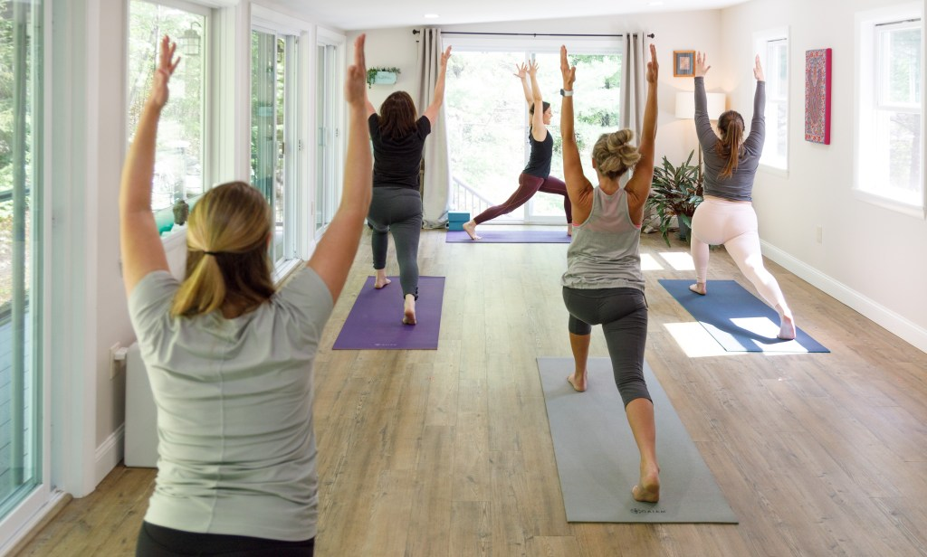 Yoga Next Door Studio Class