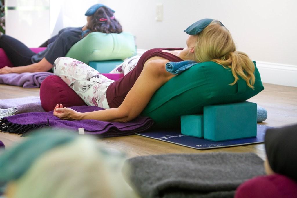 Restorative Yoga & Acupuncture Classes