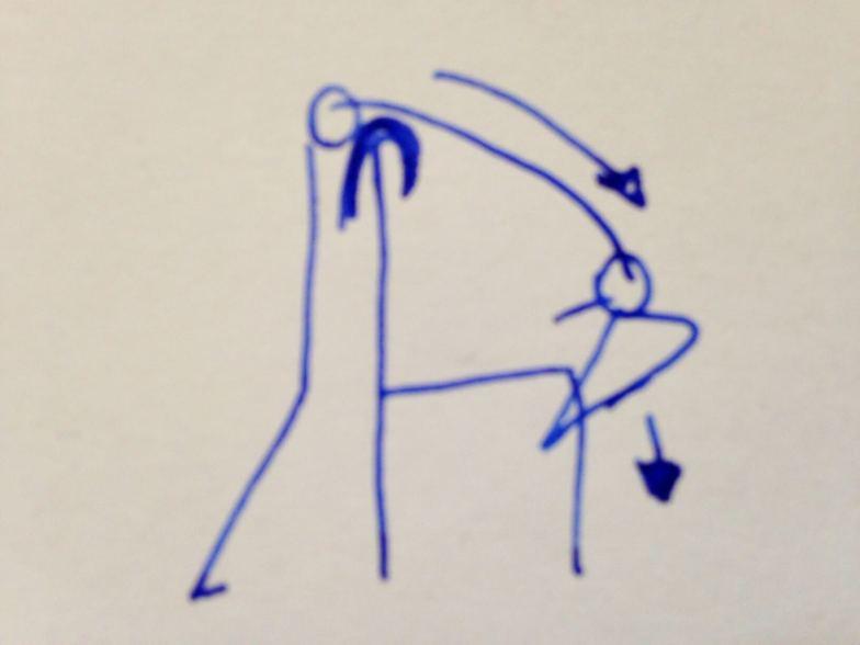 Als Hilfsmittel benötigen Sie einen Stuhl mit einer maximal hüfthohen Lehne. Darüber legen Sie eine weiche Decke zur Polsterung. Aus dem Stand heraus legen Sie sich mit dem Oberkörper über die Lehne und lassen sich in Richtung der Sitzfläche sinken. Dadurch kann sich der Rücken dehnen.
