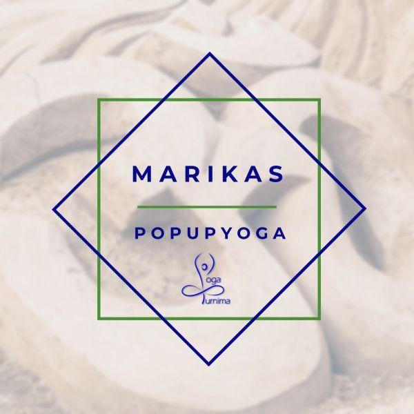 pop up yoga purnima. marika wauer
