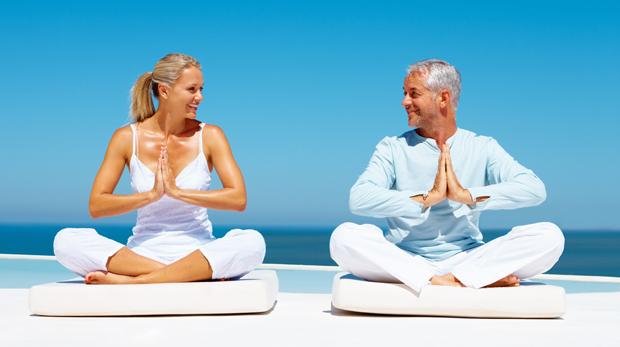 Lotus yoga posture