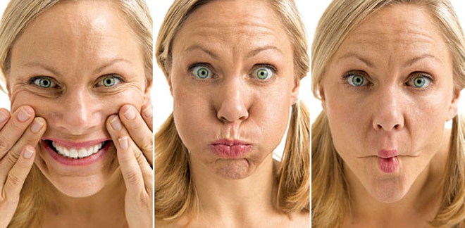 Are there yoga exercises for your face? 3