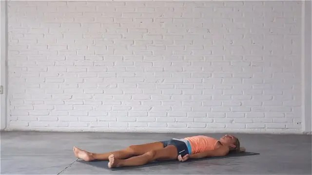 Corpse or savasana is the most restorative yoga pose.