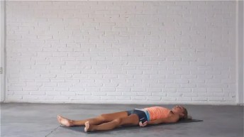 Corpse or savasana is the most restorative yoga pose.