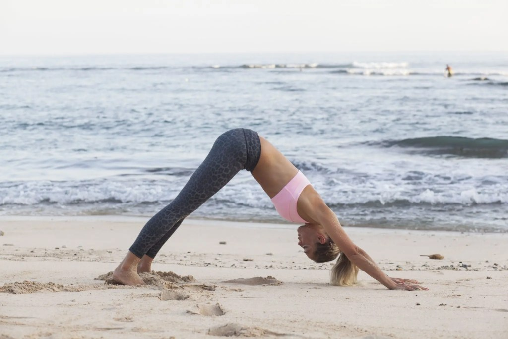 Downward Dog stretches the ankles, calves and hamstrings.